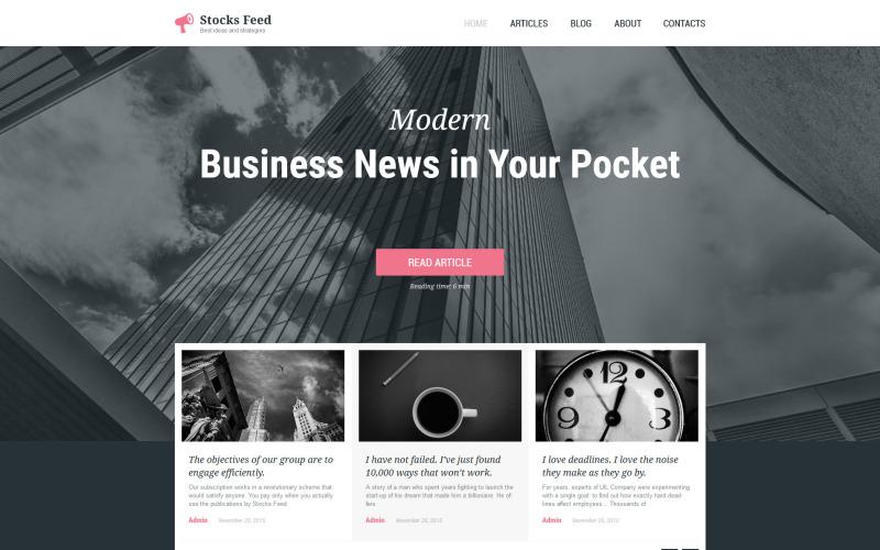 商业与服务响应式WordPress主题