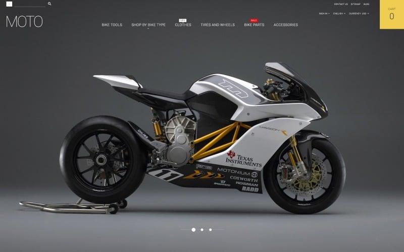 Тема Moto PrestaShop