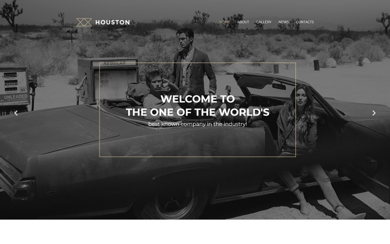 Tema WordPress di Houston