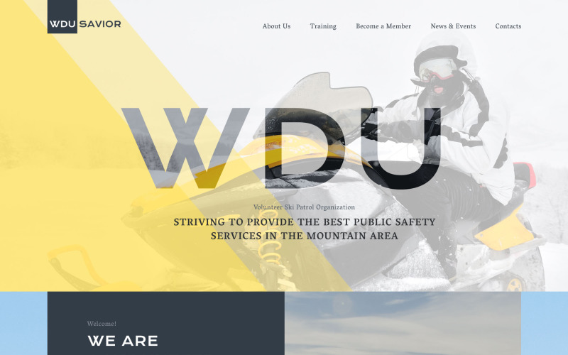 WDU Savior Website Template