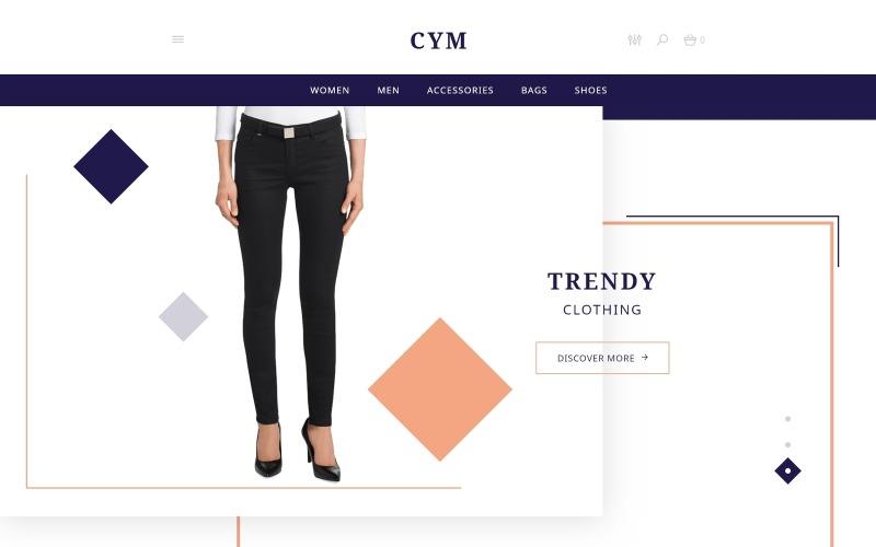 CYM - Urban Clothing OpenCart Template