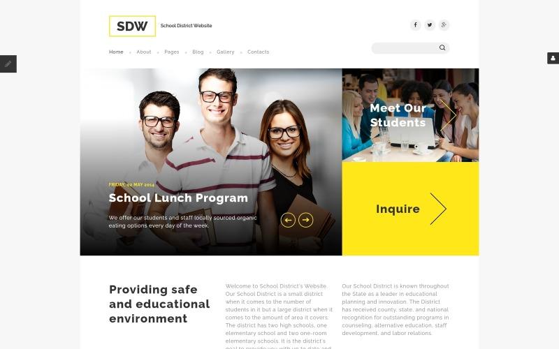SDW Joomla шаблон