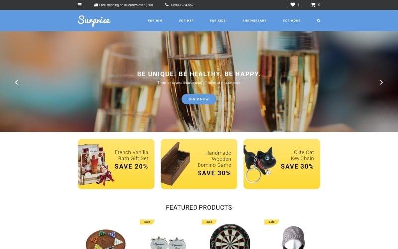 Surprise OpenCart Template