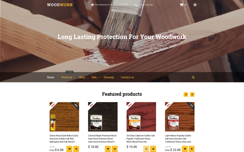 Woodwork Shopify Theme