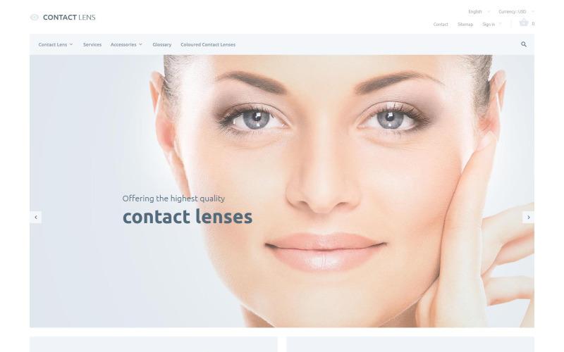 Contact Lenses PrestaShop Theme