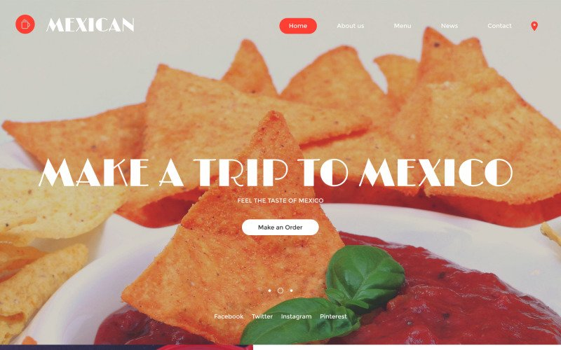 Mexican Website Template