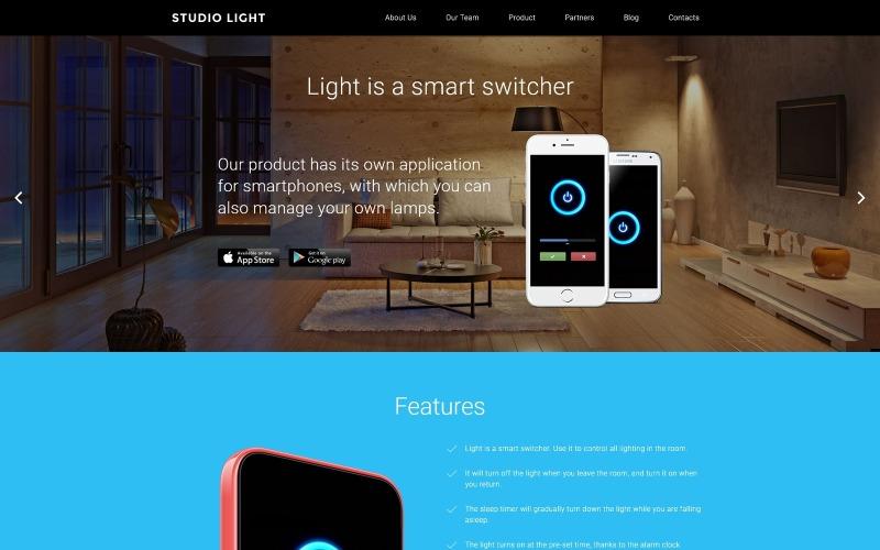 WordPress тема Studio Light