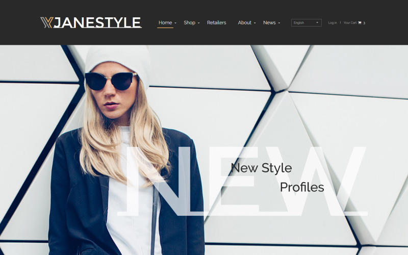 JaneStyle - Fashion Website Template