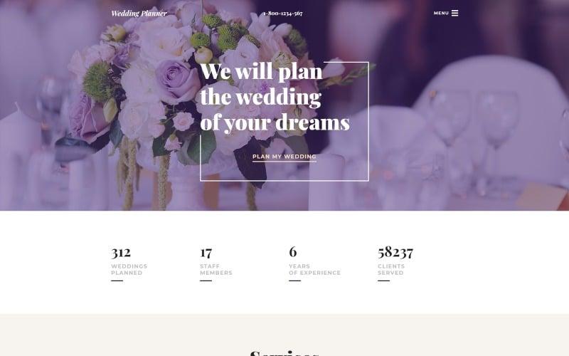 Wedding Shop Responsive Website Template