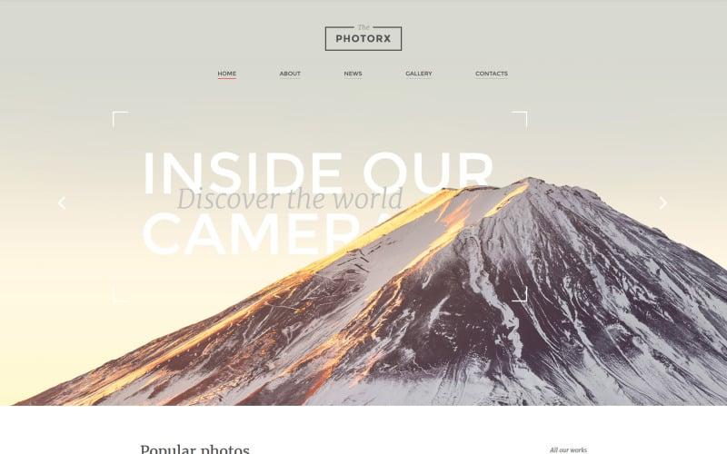 Photo Studio Responsive Website Template