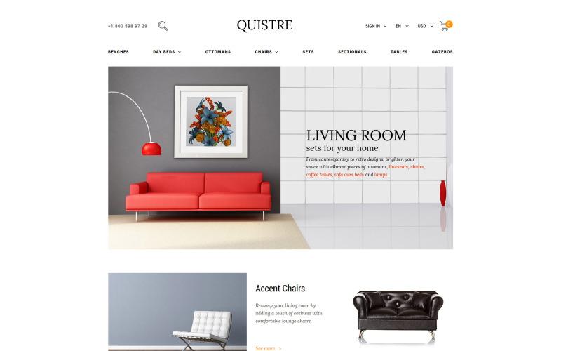 Quistre - Interior PrestaShop Theme