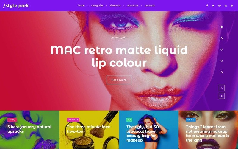 StylePark - Modeblog WordPress Theme