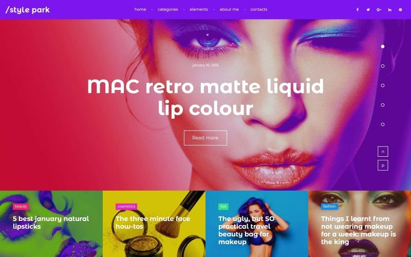 StylePark - WordPress тема модного блога