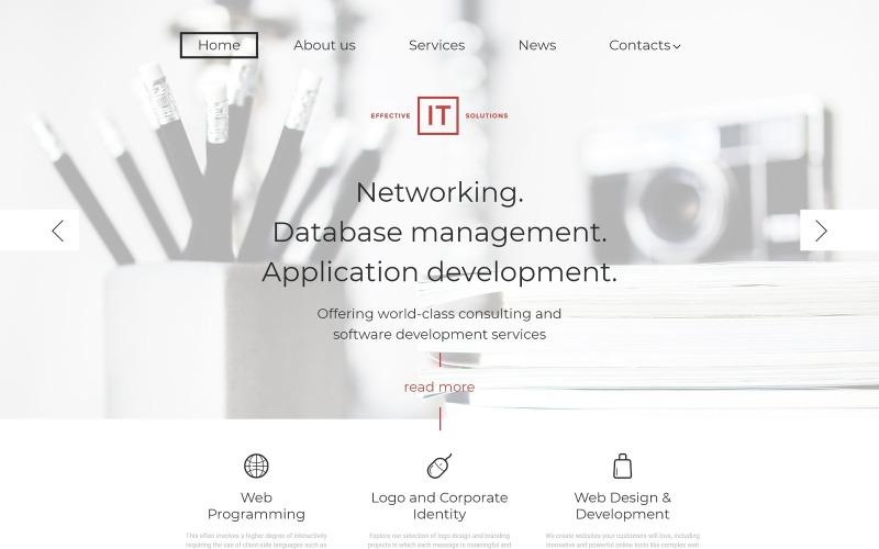 Effective IT Solutions WordPress Theme