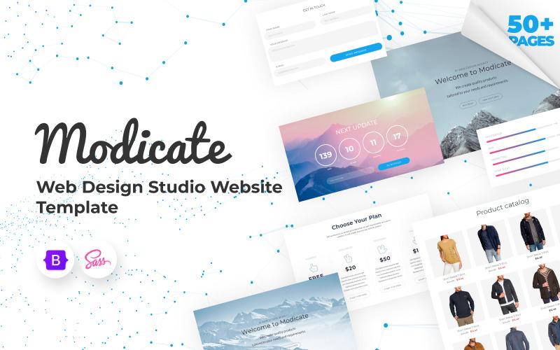 Модифікація - Шаблон веб-сайту студії веб-дизайну