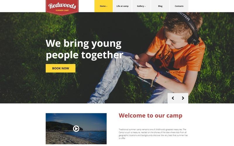 Тема WordPress Redwoods