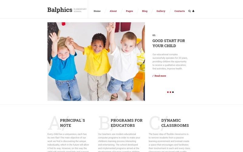 Balphics Joomla Template