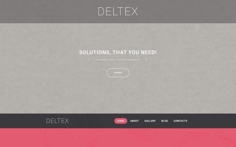 Deltex WordPress Theme