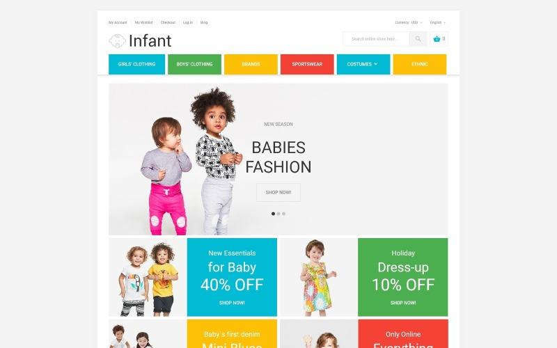 Infant Magento Theme