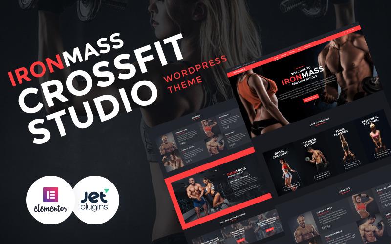 IronMass - тема WordPress для тренажерного зала, фитнеса и бодибилдинга