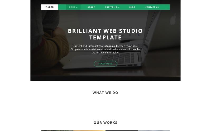 Логотип WordPress Тема