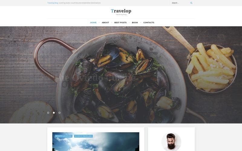 Travelop - тема WordPress для блогов о путешествиях