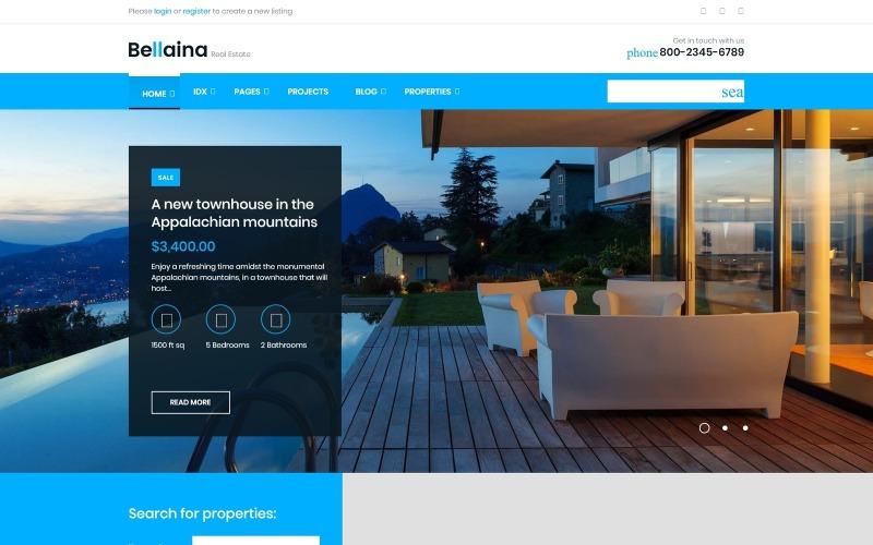 Bellaina - Thème WordPress réactif pour l'immobilier