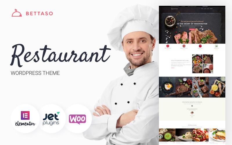 Bettaso - WordPress-tema för café och restaurang