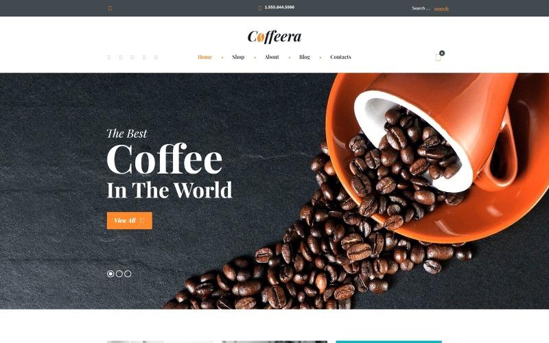Coffeeshop WooCommerce-thema