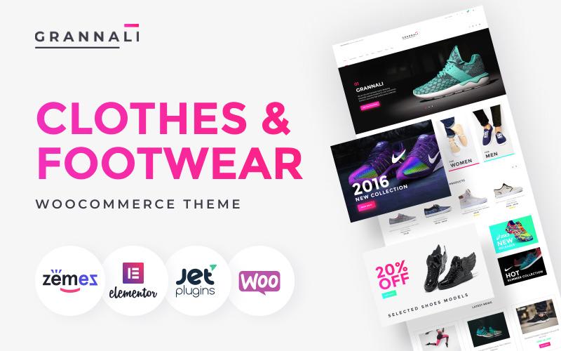 GrannaLi - Odzież i obuwie Motyw WooCommerce