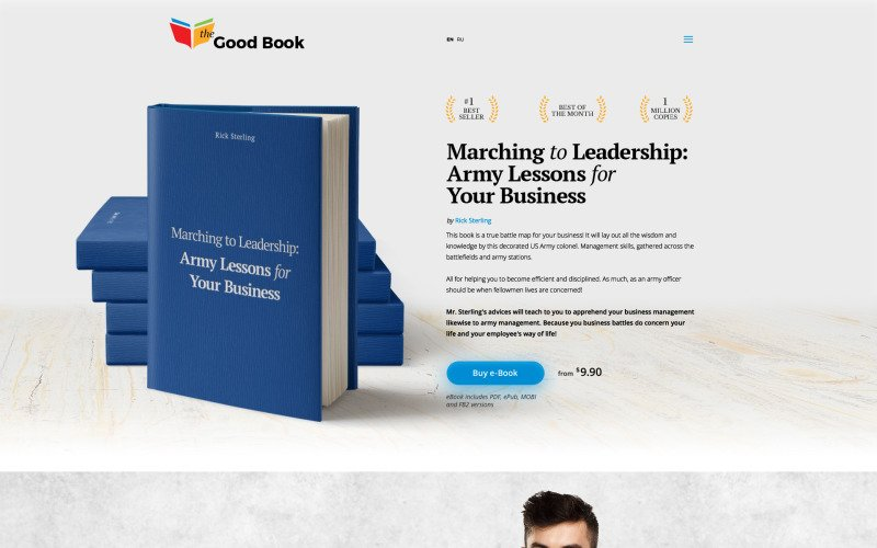 The Good Book Website Template