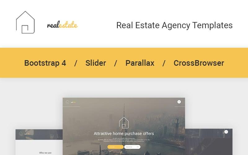 Immobilien-Website-Vorlage