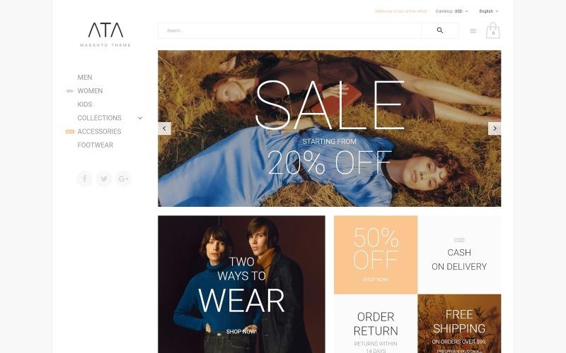 ATA - Fashion Magento Theme