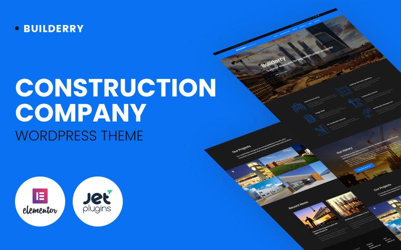 Builderry - Tema WordPress da Construtora