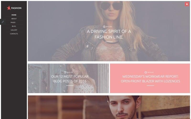 Fashion Joomla Template