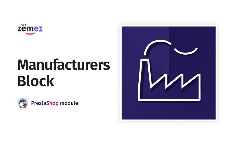 Manufacturers Block PrestaShop module