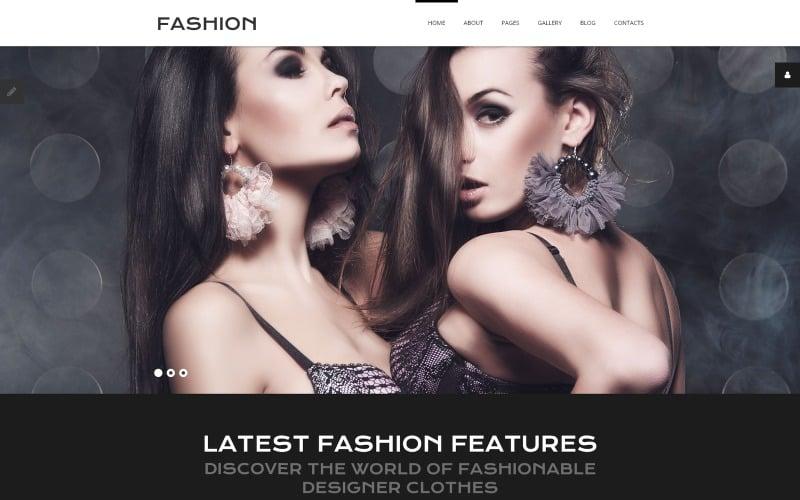 Online Fashion Joomla Template