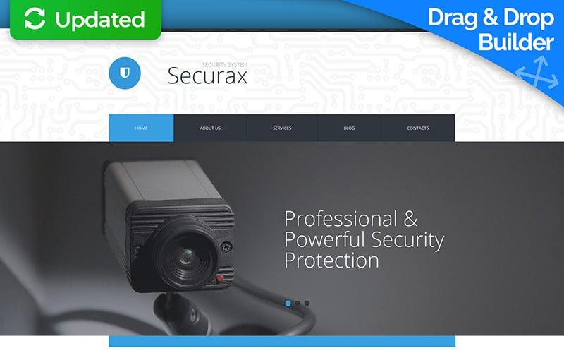 Security Moto CMS 3 Template