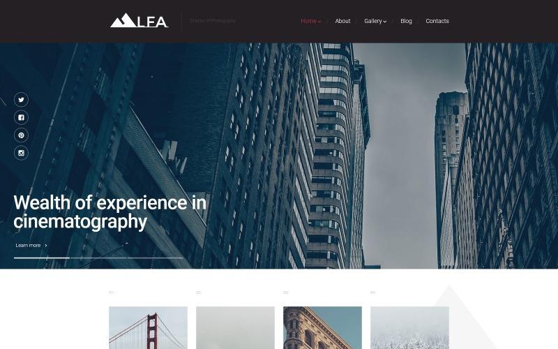 Тема WordPress LFA