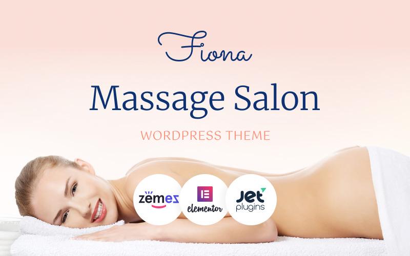 Адаптивная тема WordPress для спа-салонов красоты и массажа