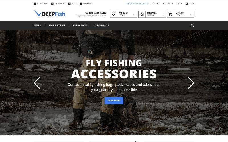 DeepFish Magento Theme
