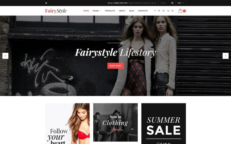FairyStyle Website Template