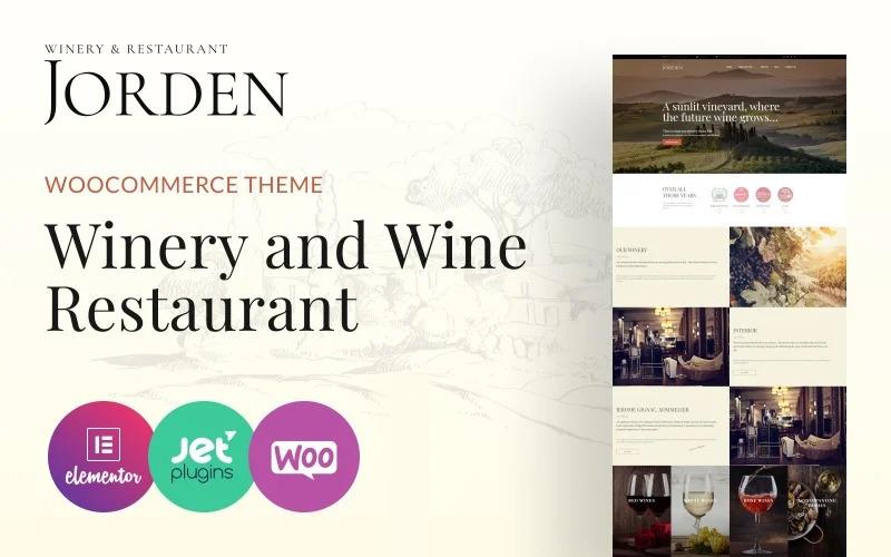 Jorden - Bor és borászat WordPress téma