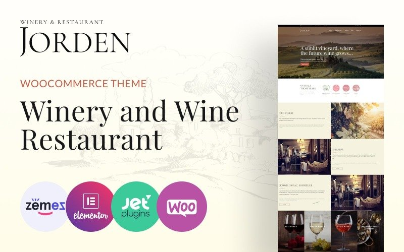 Jorden - Wine & Winery WordPress Theme