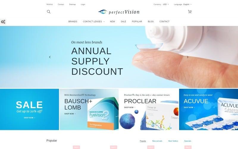 Perfect Vision PrestaShop Theme