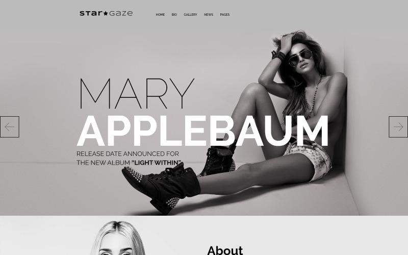 Stargaze - адаптивная тема WordPress для СМИ и знаменитостей