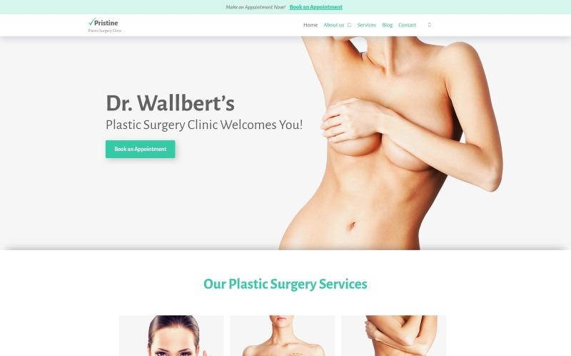 Unberührte - Plastische Chirurgie WordPress Theme