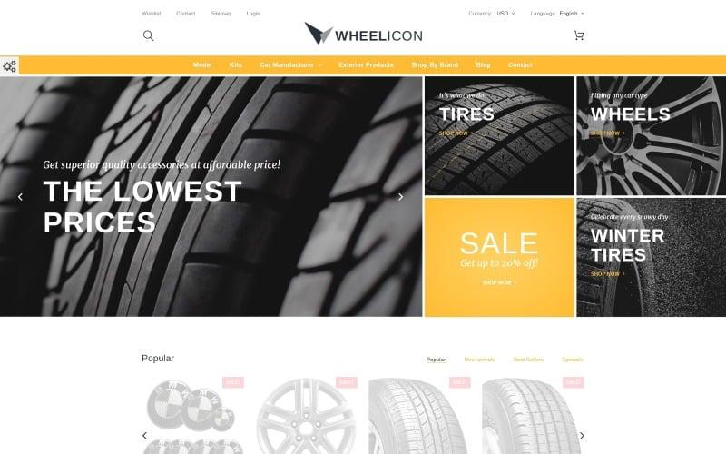 Wheelicon PrestaShop Theme
