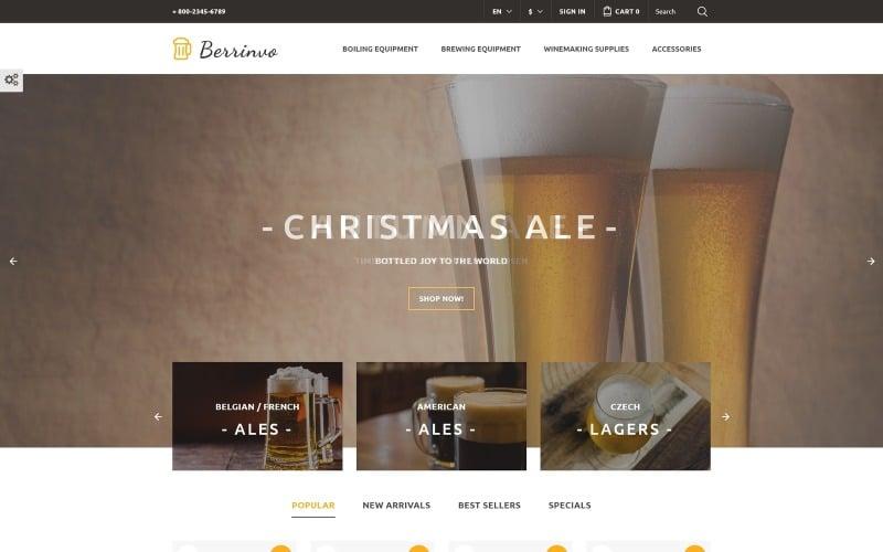 Berrinvo - Brewery Responsive PrestaShop Theme