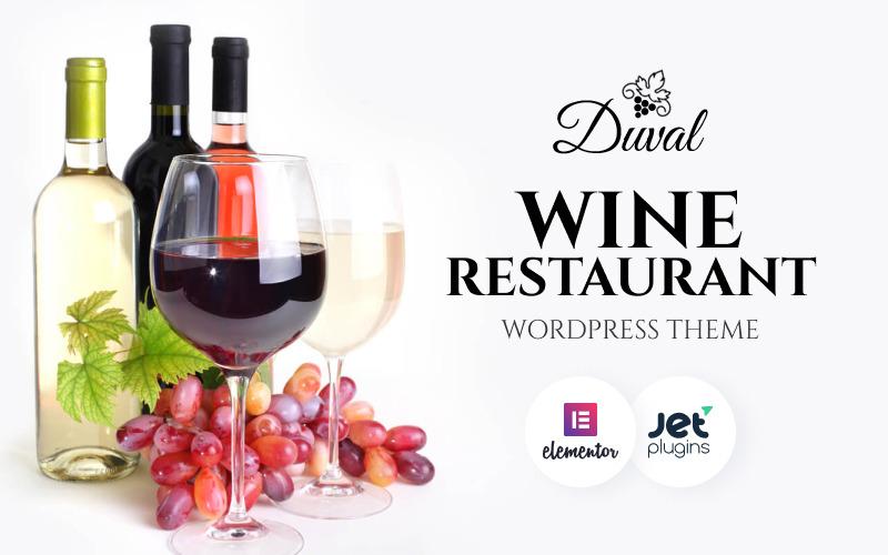 Duval - Vineyard, Winery WordPress Theme